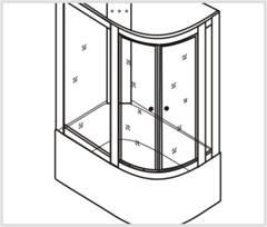 Установка каркаса стеклянных панелей