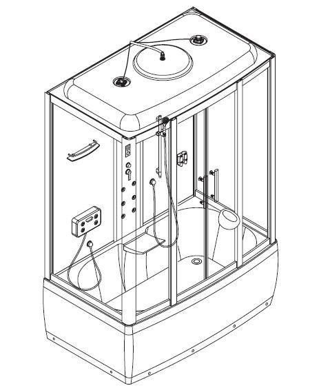 инструкция по сбору душевой кабины - фото 8