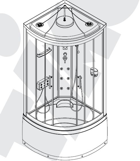 инструкция по сбору душевой кабины - фото 9