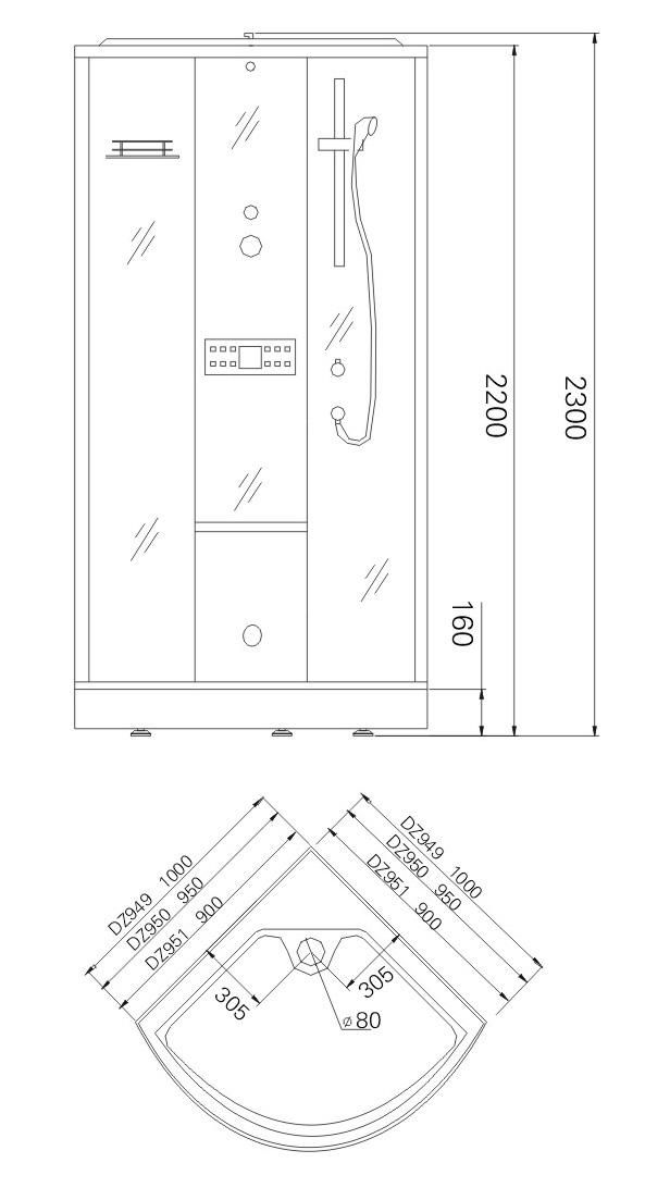 Монтаж кабины TL-1502, TL-1504