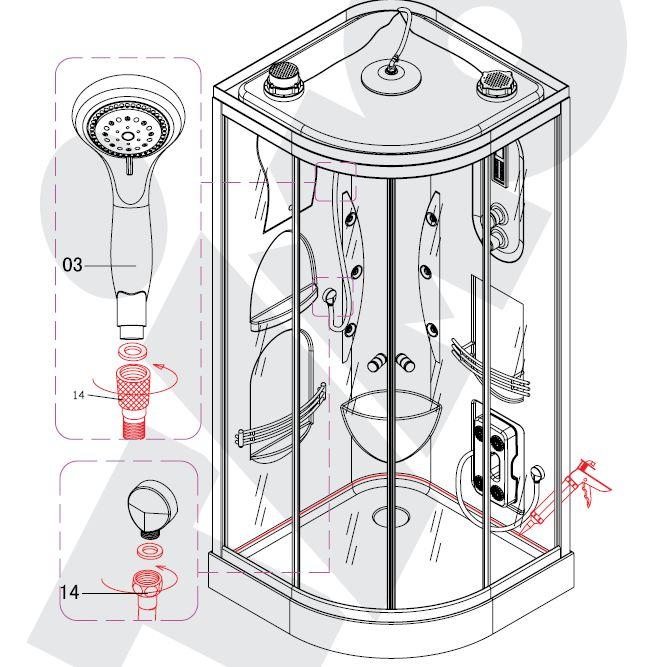 Схема подключения пульта