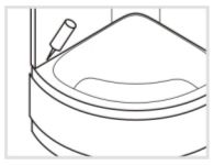 Функциональная проверка и герметизация душевой кабины Timo